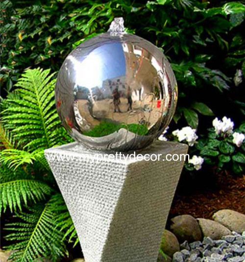 Stainless Steel Sphere Stainless Steel Ball Flower Pot